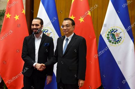 Editorial image of Salvadorian President Nayib Bukele visits China, Beijing - 03 Dec 2019