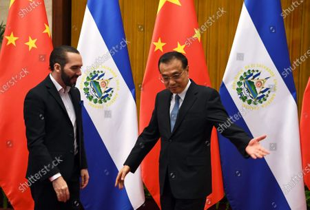 Editorial photo of Salvadorian President Nayib Bukele visits China, Beijing - 03 Dec 2019