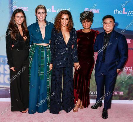 Arienne Mandi, Jacqueline Toboni, Sepideh Moafi, Rosanny Zayas, and Leo Cheng