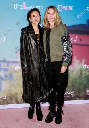 Ilene Chaiken and LouAnne Brickhouse