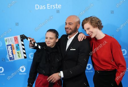 Editorial photo of German ARD television phot call, Hamburg, Germany - 03 Dec 2019