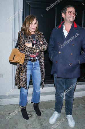 Melissa Rivers outside Craig's Restaurtant in West Hollywood.