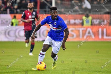 Editorial photo of Cagliari v Sampdoria, Serie A, football, Stadium Sardegna Arena, Italy - 02 Dec 2019