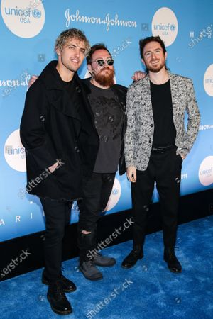 Stock Photo of Walk the Moon - Kevin Ray, Nicholas Petricca and Sean Waugaman