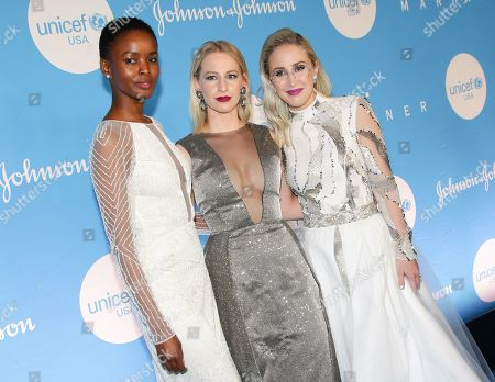 Editorial picture of 15th Annual UNICEF Snowflake Ball, Arrivals, New York, USA - 03 Dec 2019