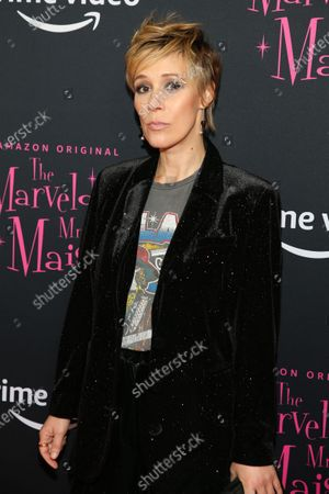 Editorial photo of 'The Marvelous Mrs. Maisel' season three TV show premiere, Arrivals, The Museum of Modern Art, New York, USA - 03 Dec 2019