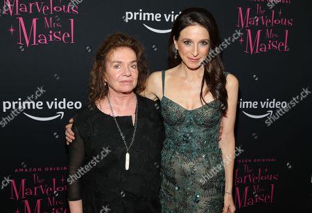 Marin Hinkle and Donna Zakowska