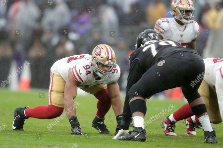 Editorial photo of 49ers Ravens Football, Baltimore, USA - 01 Dec 2019