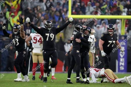 Editorial picture of 49ers Ravens Football, Baltimore, USA - 01 Dec 2019