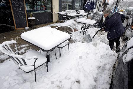 Editorial photo of Wintry Weather, Dedham, USA - 03 Dec 2019