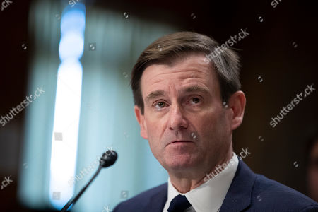 State Department official David Hale testifies during a hearing of the Senate Foreign Relations Committee about the future of U.S. policy towards Russia, in Washington, on Capitol Hill