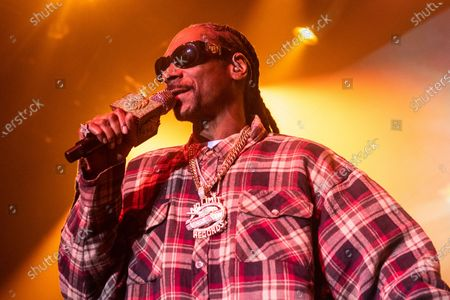 Stock Image of Snoop Dogg
