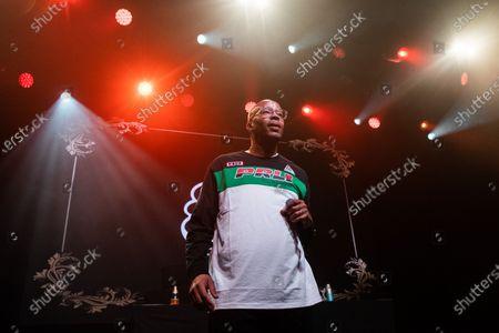 Editorial image of Snoop Dogg in concert, San Francisco, USA - 02 Dec 2019
