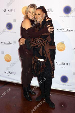 Dr. Jennifer Ashton and Donna Karan