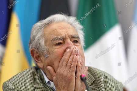 Editorial photo of Jose Mujicaparticipates in a conference at the headquarters of the Foreign Ministry in Mexico City - 03 Dec 2019