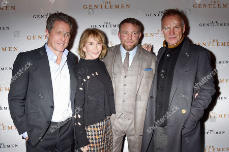 Hugh Grant, Trudie Styler, Guy Ritchie and Sting