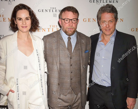 Michelle Dockery, Guy Ritchie and Hugh Grant
