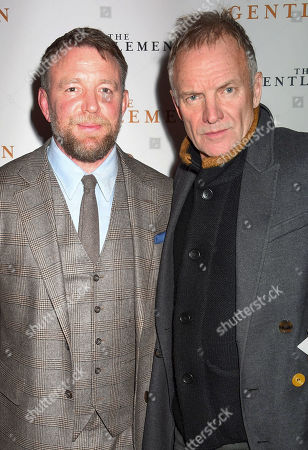 Guy Ritchie and Sting