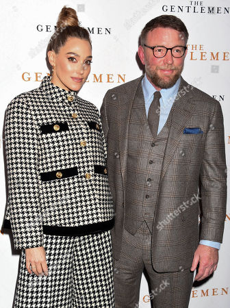 Stock Image of Jacqui Ainsley and Guy Ritchie