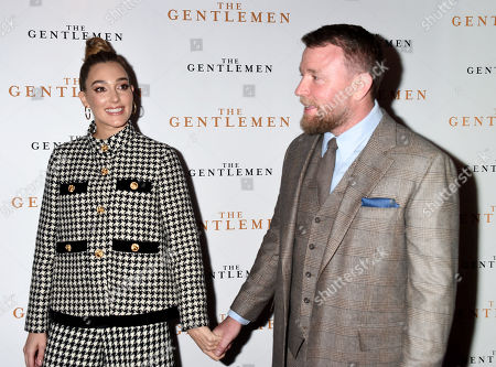 Stock Picture of Jacqui Ainsley and Guy Ritchie