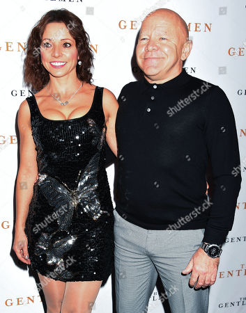 Dominic Littlewood and guest