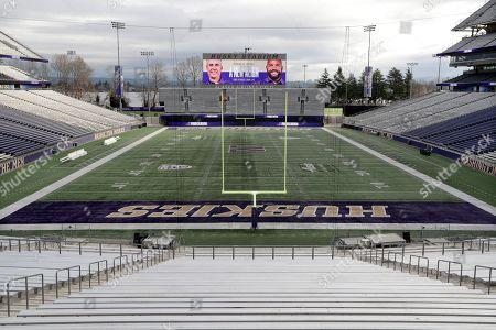 Editorial picture of Washington Petersen Football, Seattle, USA - 03 Dec 2019