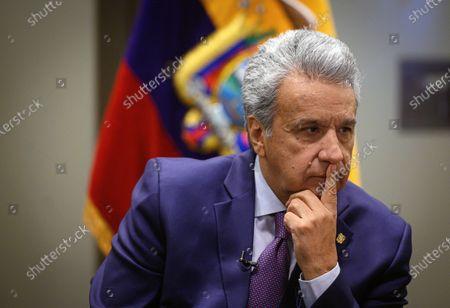 Editorial image of Ecuador's president, Lenin Moreno in Madrid, Spain - 03 Dec 2019