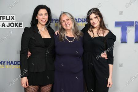 Sarah Silverman, Susan Silverman and Aliza Rose Silverman