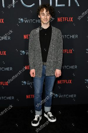 Editorial image of 'The Witcher' TV show premiere, Arrivals, The Egyptian Theatre, Los Angeles, USA - 03 Dec 2019