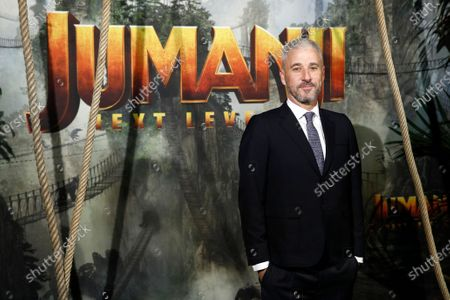 Matt Tolmach poses for the media as he arrives for the world premiere of the film 'Jumanji: Next Level' at the Grand Rex theater in Paris, France, 03 December 2019. The movie will be released in France on 04 December 2019.