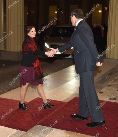 Katrin Jakobsdottir Prime Minister of Iceland and Anthony Charles Richards