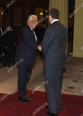 Antonio Costa, Prime Minister of Portugal and Anthony Charles Richards