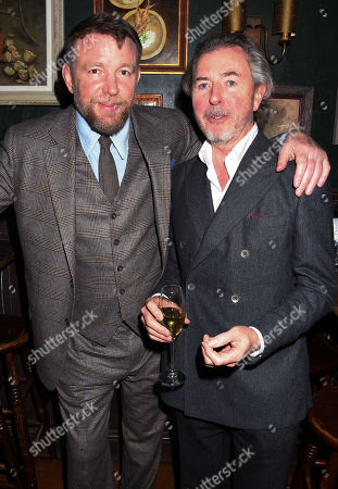 Stock Picture of Guy Ritchie and Tony James