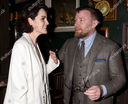 Michelle Dockery and Guy Ritchie