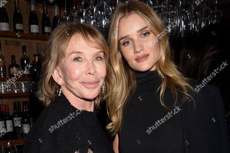 Trudie Styler and Rosie Huntington-Whiteley