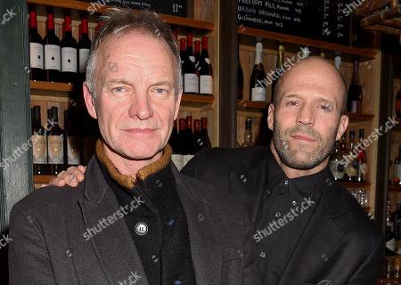 Sting and Jason Statham