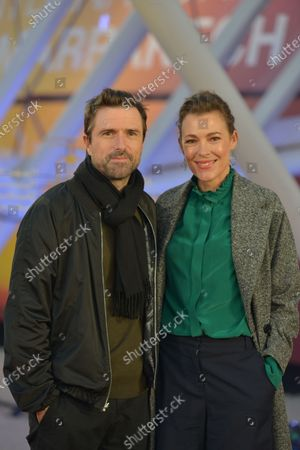 Stock Image of David Michod and his wife Mirrah Foulkes attend the screening of the movie 'Adam' during the 18th edition of the Marrakech International Film Festival, in Marrakech, Morocco, 03 December 2019. The film festival runs from 29 November to 07 December 2019.