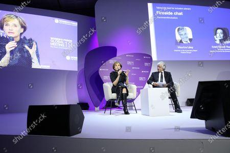 Editorial image of Women's Forum Global Meeting, Paris, France - 20 Nov 2019