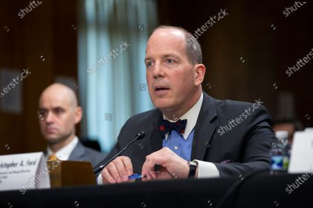 Editorial photo of United States Senate Committee on Foreign Relations, Washington DC, USA - 03 Dec 2019