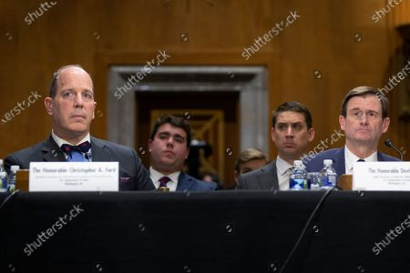 David Hale, Under Secretary of State for Political Affairs, and Christopher Ford, Assistant Secretary for International Security and Nonproliferation, testify