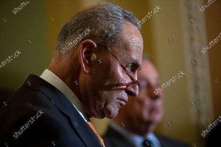 United States Senate Minority Leader Chuck Schumer (Democrat of New York)