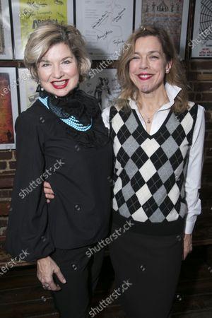 Issy Van Randwyck (Lady Brockhurst) and Janie Dee (Madame Dubonnet)
