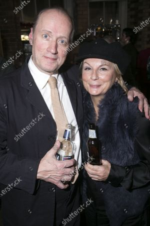 Adrian Edmondson (Lord Brockhurst) and Jennifer Saunders