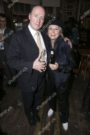 Stock Image of Adrian Edmondson (Lord Brockhurst) and Jennifer Saunders