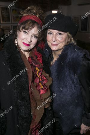 Harriet Thorpe and Jennifer Saunders