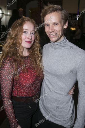 Stock Image of Victoria Yeates and Guy Warren-Thomas