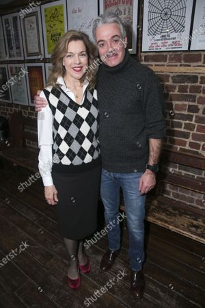 Stock Image of Janie Dee (Madame Dubonnet) and Robert Portal (Percival Brown)