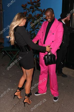 Stock Picture of Vas J Morgan attending his Birthday party with Chloe Sims at Laylow, London, United Kingdom. 3 December 2019