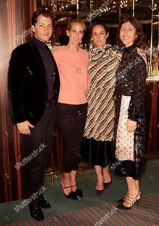 Editorial photo of Begum Khan x AQUAZZURA Dinner Party, London, UK - 03 Dec 2019