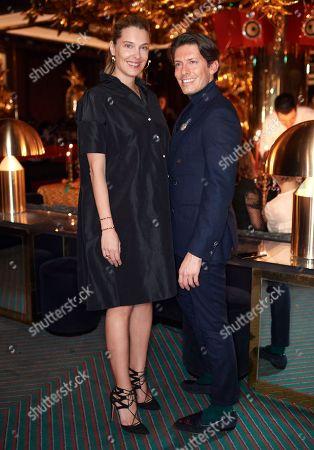 Sara Brajovic and Edgardo Osorio